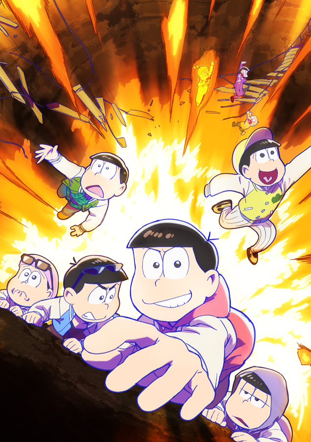 TVアニメ「おそ松さん」第3期ティザービジュアル (C)赤塚不二夫/おそ松さん製作委員会