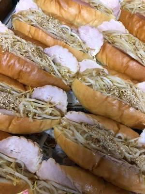 狭間サンド(500円)