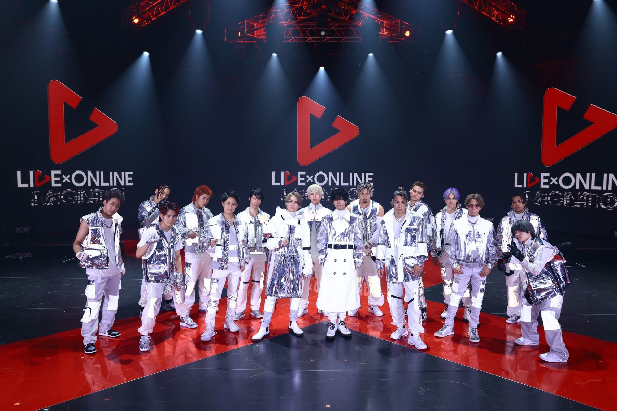 THE RAMPAGE from EXILE TRIBE『LIVE×ONLINE IMAGINATION』