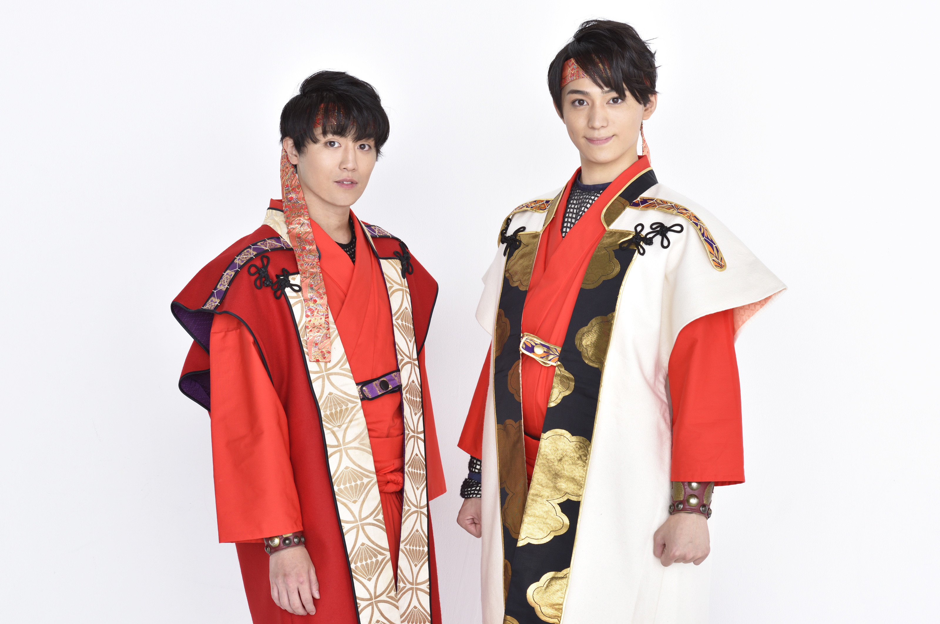 (左から)内藤大希、佐奈宏紀