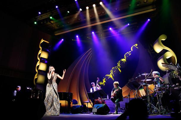 「MTV Unplugged」収録ライブの様子。(撮影:川田洋司)