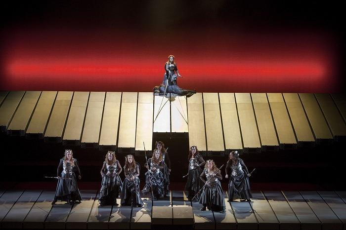《ワルキューレ》(c)Ken Howard/Metropolitan Opera
