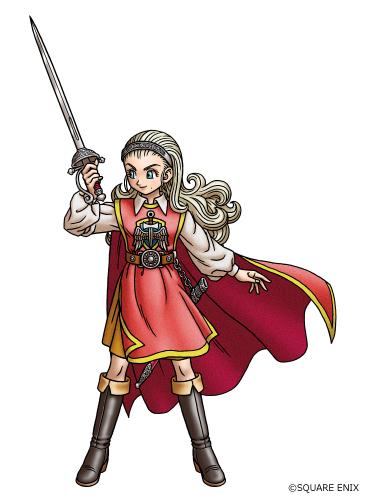 勇者姫アンルシア。リアル脱出ゲーム×ドラゴンクエスト『大魔王ゾーマからの脱出』では早見沙織さんが声優を務める。