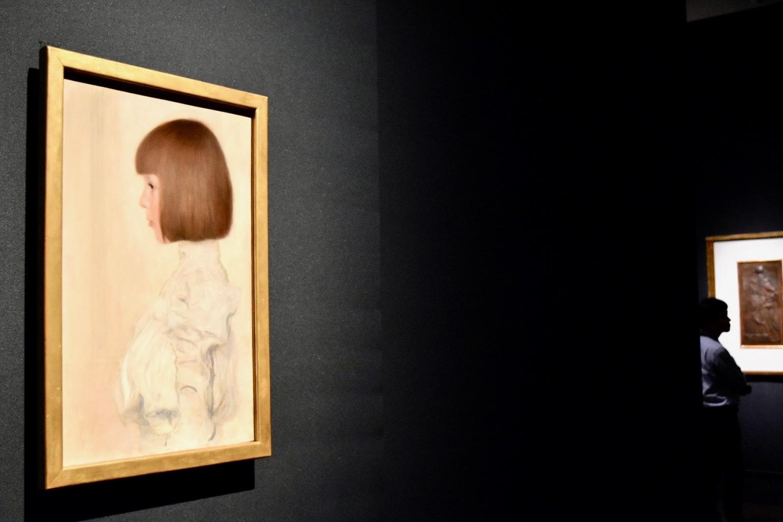 グスタフ・クリムト 《ヘレーネ・クリムトの肖像》 1898年 ベルン美術館蔵(個人から寄託)