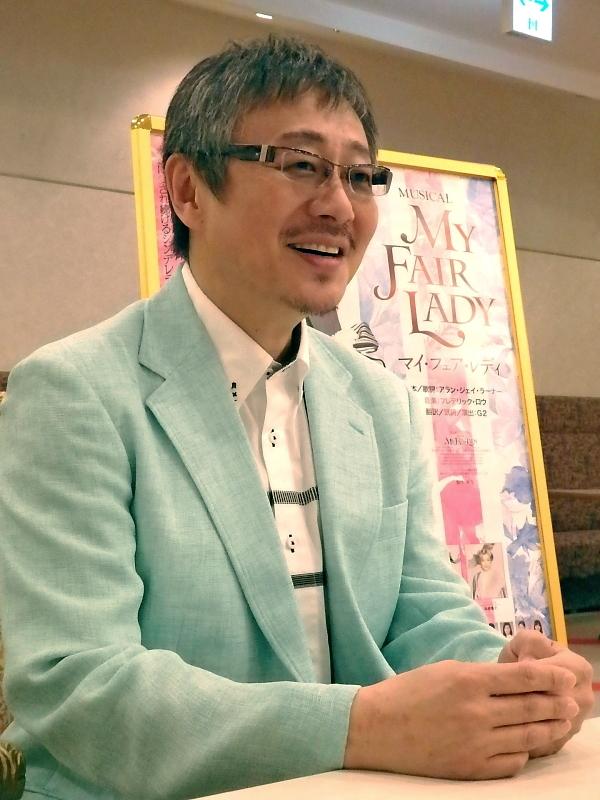 『マイ・フェア・レディ』ドゥーリトル役の松尾貴史