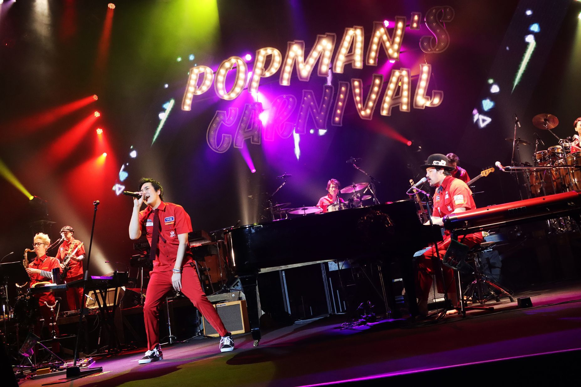 『SUKIMASWITCH TOUR 2019〜2020 POPMAN'S CARNIVAL Vol.2』2019年12月15日 東京 中野サンプラザ  撮影=岩佐篤樹
