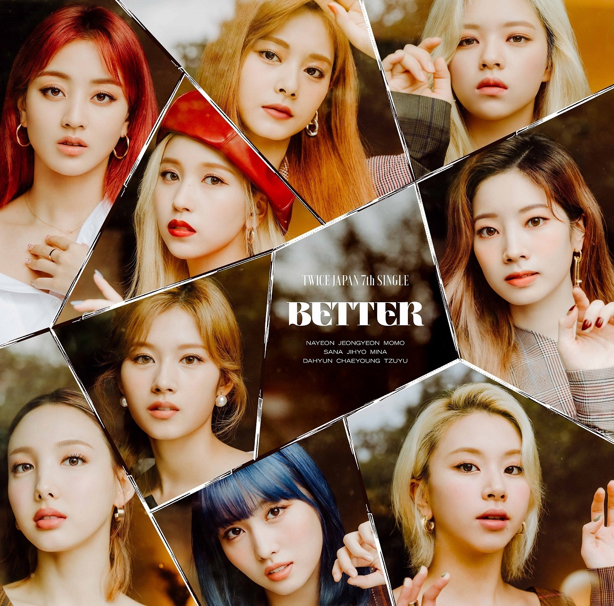 TWICE JAPAN 7th SINGLE『BETTER』通常盤