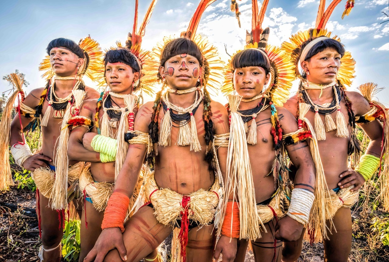 「ENAWENE FIVE」 エナウェネ・ナウェ族(ブラジル)
