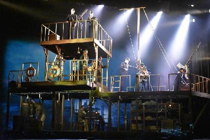 内野聖陽、風間俊介、溝端淳平が出演する舞台『最貧前線』開幕 宮崎駿の5ページの作品から平和を考える