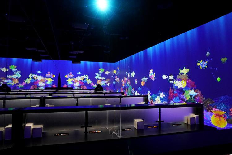 《世界とつながったお絵かき水族館》