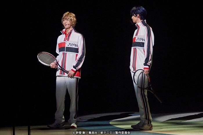 ミュージカル『新テニスの王子様』The First Stage  (C)許斐 剛/集英社・新テニミュ製作委員会