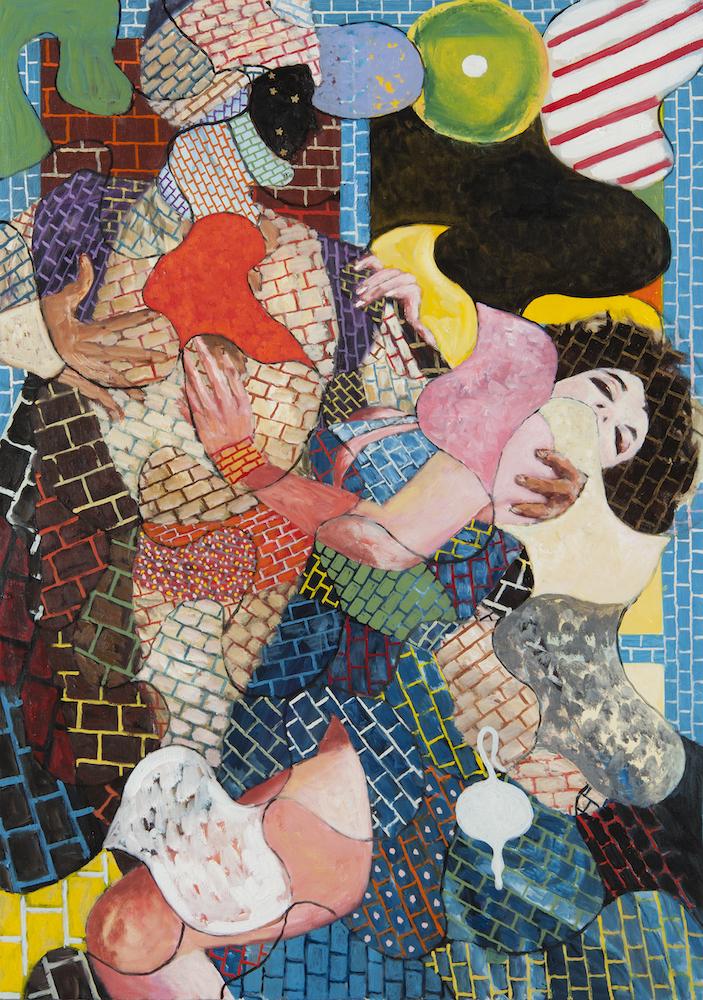 横尾忠則《愛のアラベスク》2012年 作家蔵