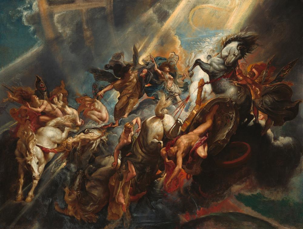 ペーテル・パウル・ルーベンス《パエトンの墜落》 ワシントン、ナショナル・ギャラリー Courtesy National Gallery of Art, Washington
