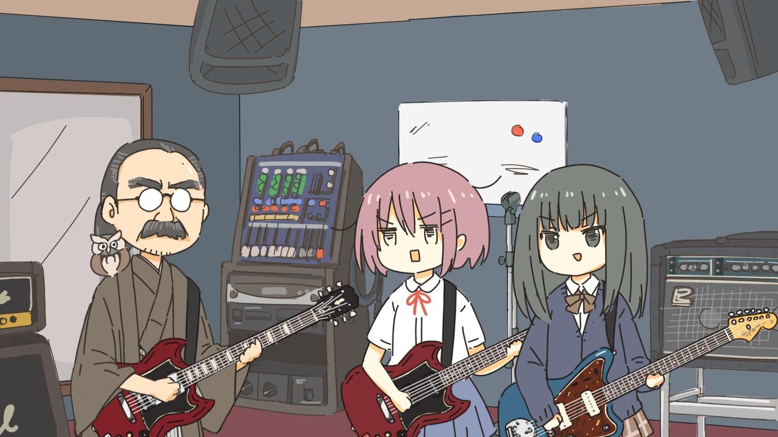「女子高生スタジオに行く!!」より