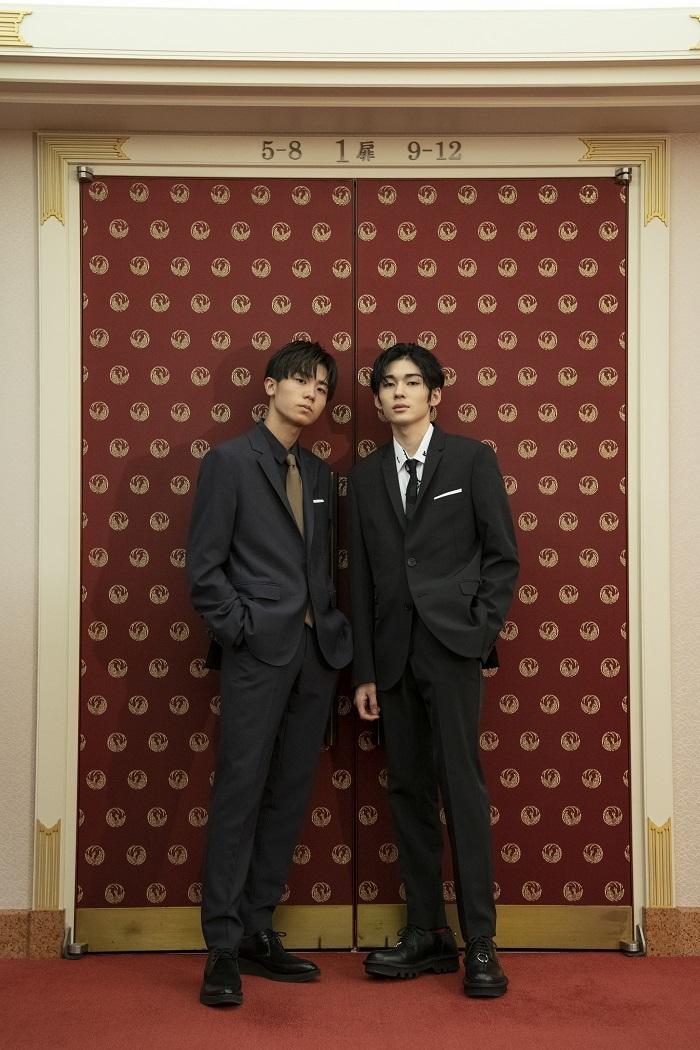 (左から)市川團子、市川染五郎