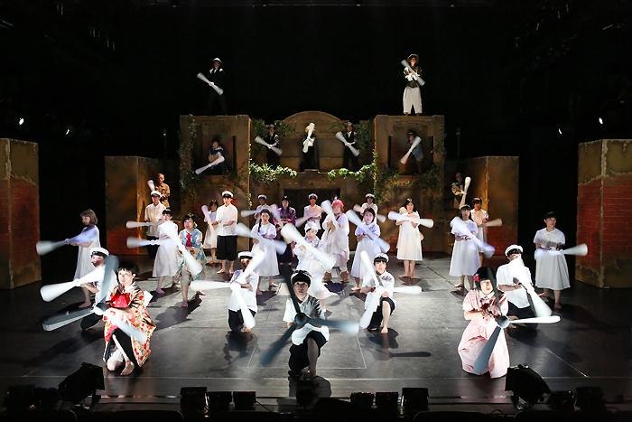少年王者舘『1001』(2019年)。 [撮影]宮川舞子