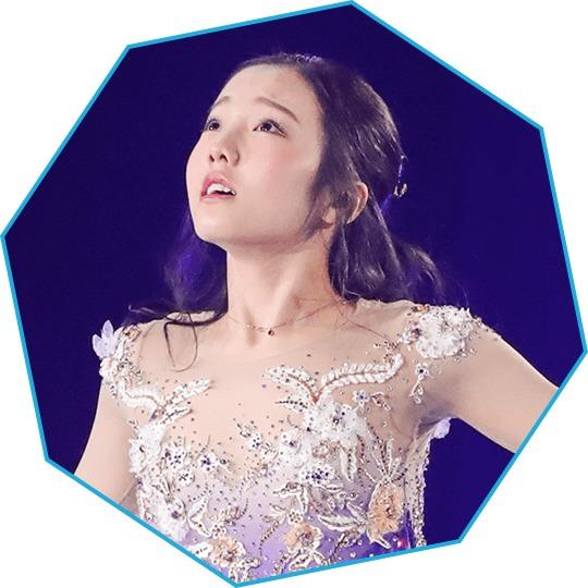 さらなる飛躍が期待される本田真凛。本田3姉妹そろい踏みで、長女として良い演技を期待したい