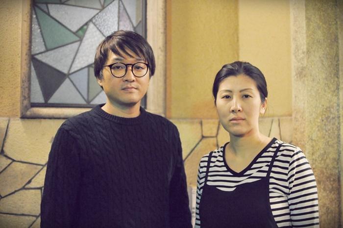 (左から)柳沼昭徳、阪本麻紀。 [撮影]吉永美和子(人物すべて)
