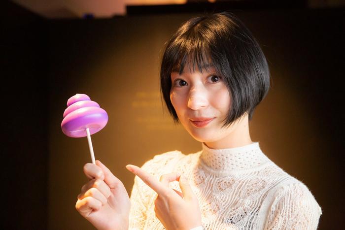 紫のMY UNKOをゲット!