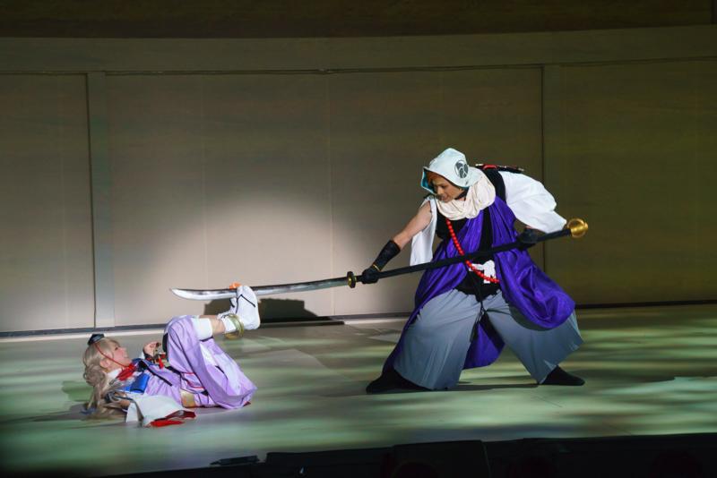 今回のストーリーに大きく絡む二人 撮影:坂井美碧織