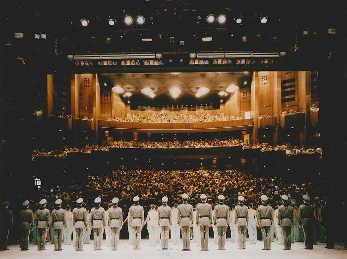 1993年、 ベルリン・ドイツ・オペラ公演のカーテンコール