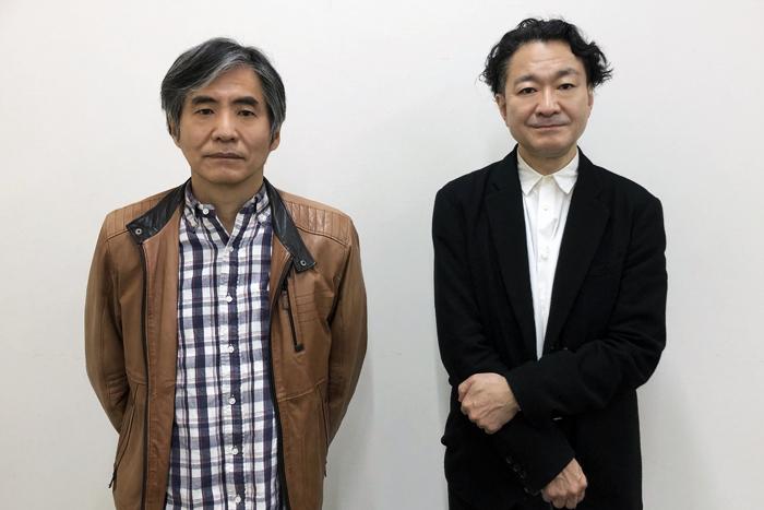左から 中島かずき(劇団☆新感線)、白井晃 (撮影:芝野裕仁)