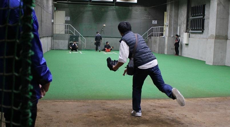 ブルペン投球体験(※写真はイメージ)