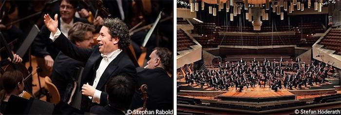 グスターボ・ドゥダメル、ベルリン・フィルハーモニー管弦楽団