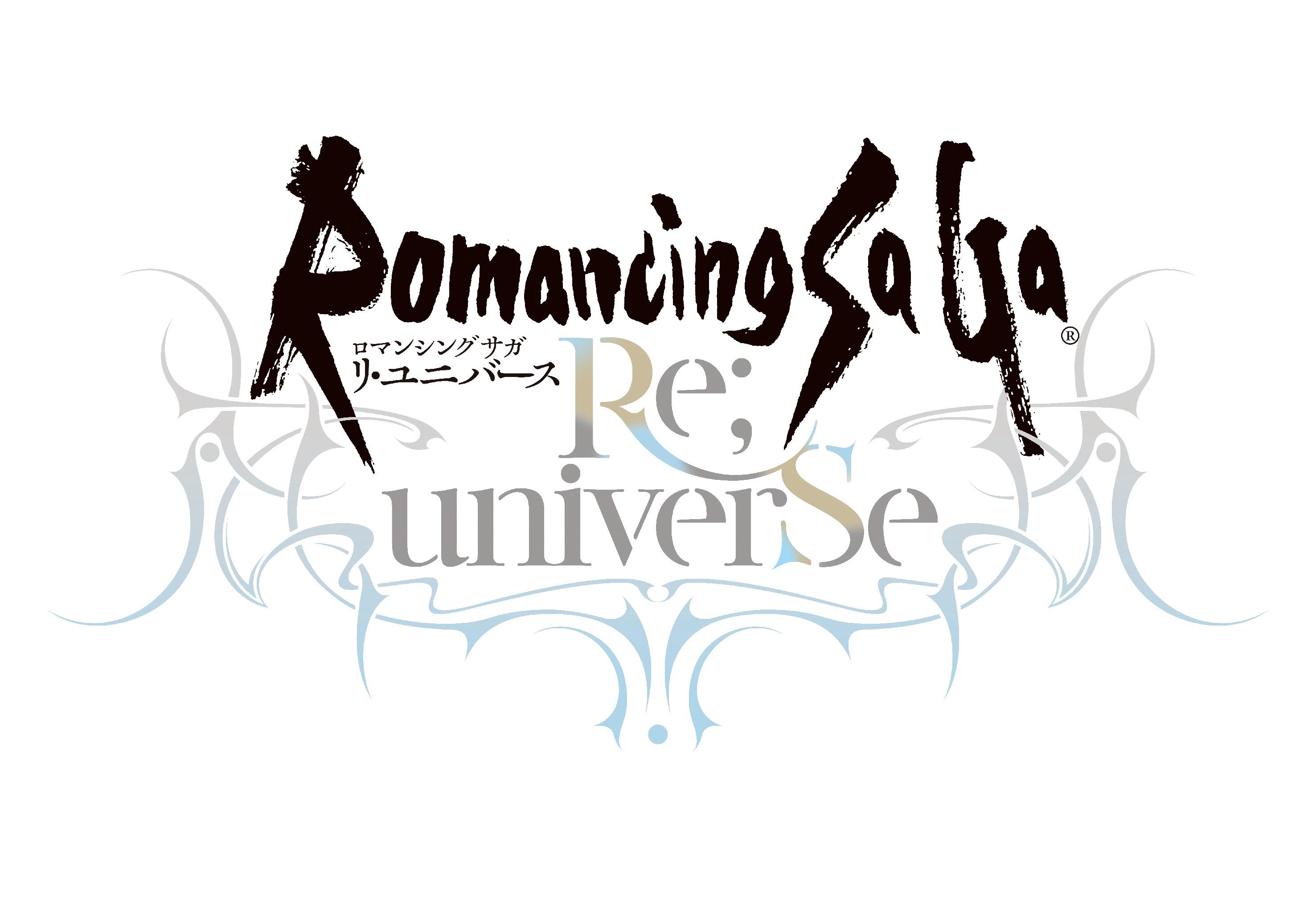 『ロマンシング サガ リ・ユニバース』タイトルロゴ (c)SQUARE ENIX CO., LTD. All Rights Reserved. Powered by Akatsuki Inc. ILLUSTRATION: TOMOMI KOBAYASHI