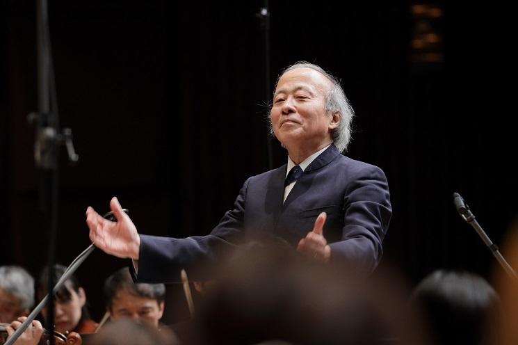 大阪フィルハーモニー交響楽団 音楽監督 尾高忠明 (C)飯島隆
