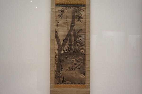 雪村周継《猿猴図》(個人蔵、3月28日~4月23日展示)
