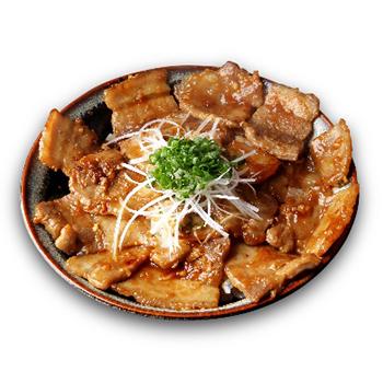 肉の大盛り 厚切り豚丼(1,000円)