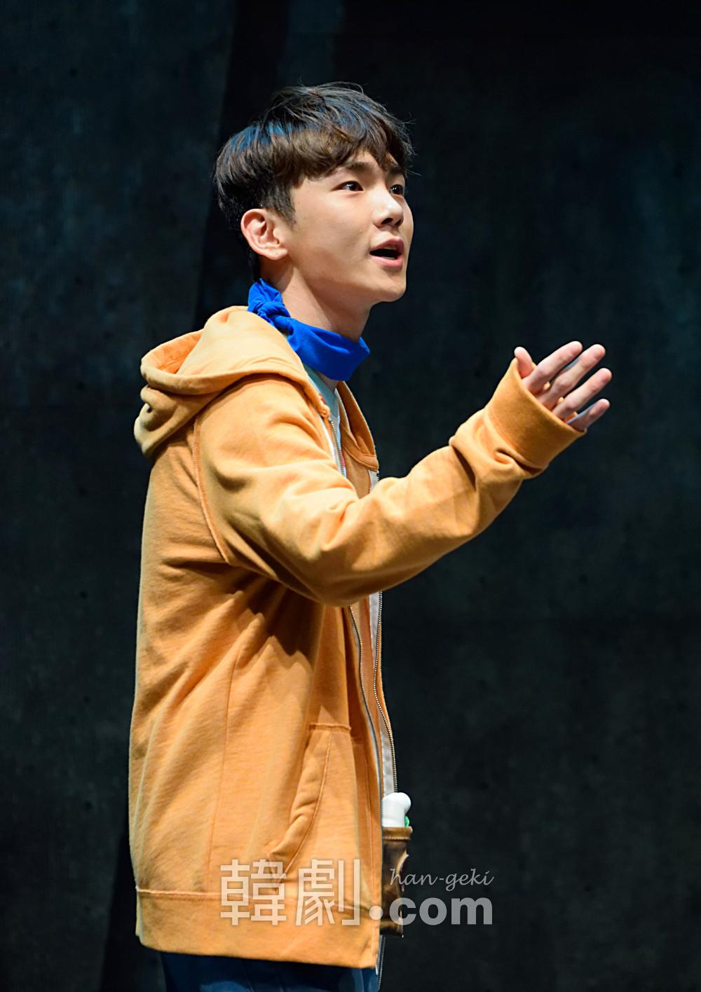 chikyu2 ビョング役を熱演するKey
