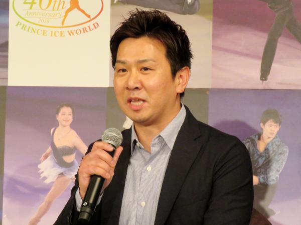 2006年からプリンスアイスワールドに出演している本田武史