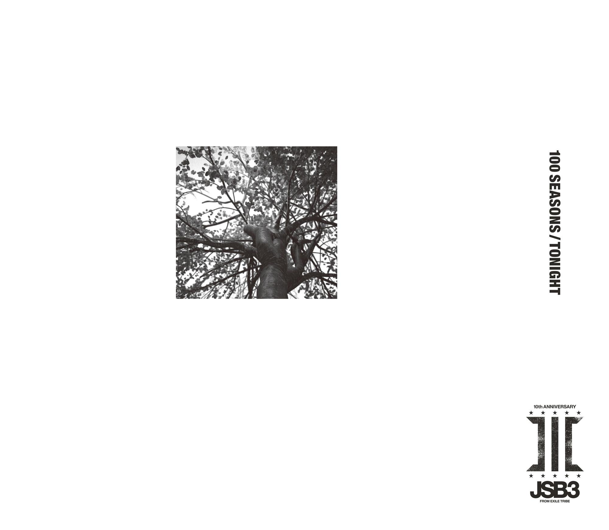 ニューシングル「100 SEASONS / TONIGHT」ジャケット