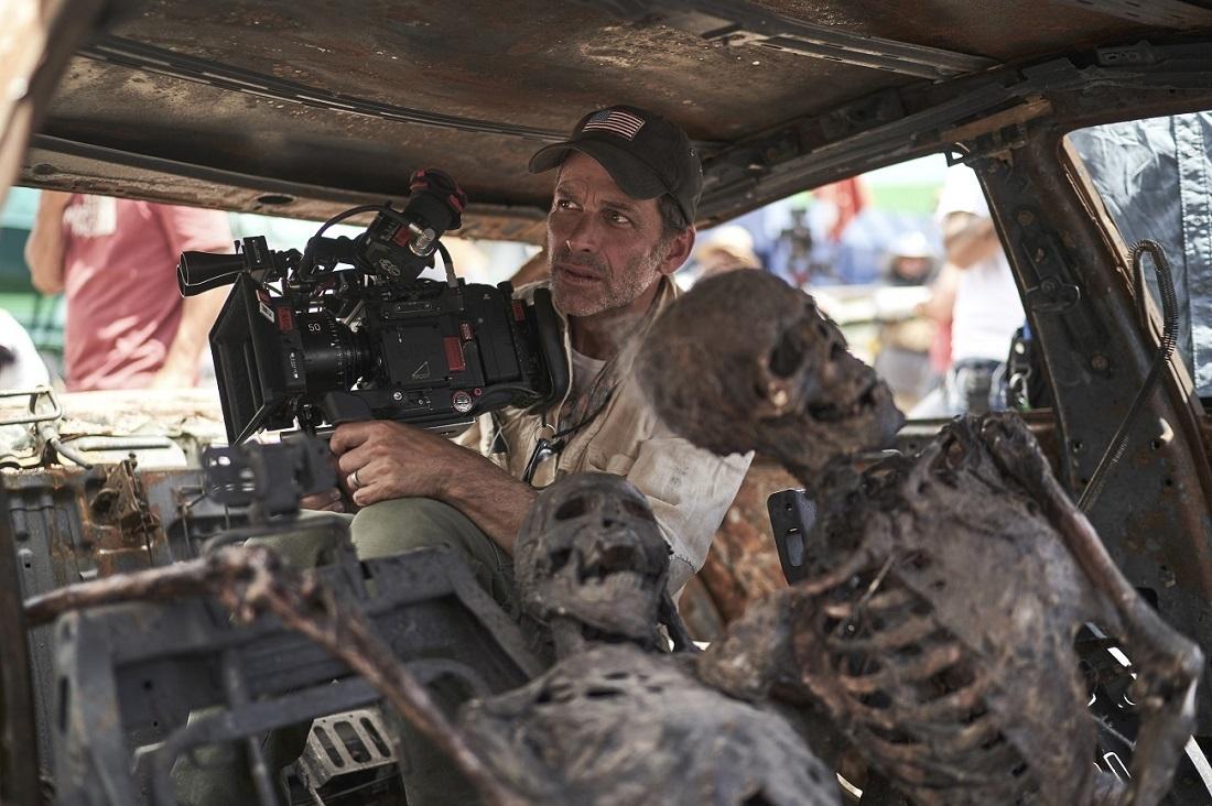 Netflix映画『 アーミー・オブ・ザ・デッド』メイキング写真 Netflix映画『アーミー・オブ・ザ・デッド』2021 年独占配信予定