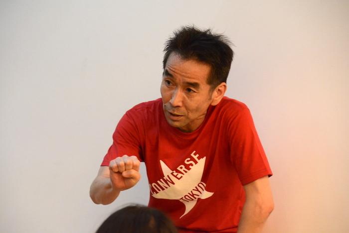ワークショップで講師を務めた小野寺修二
