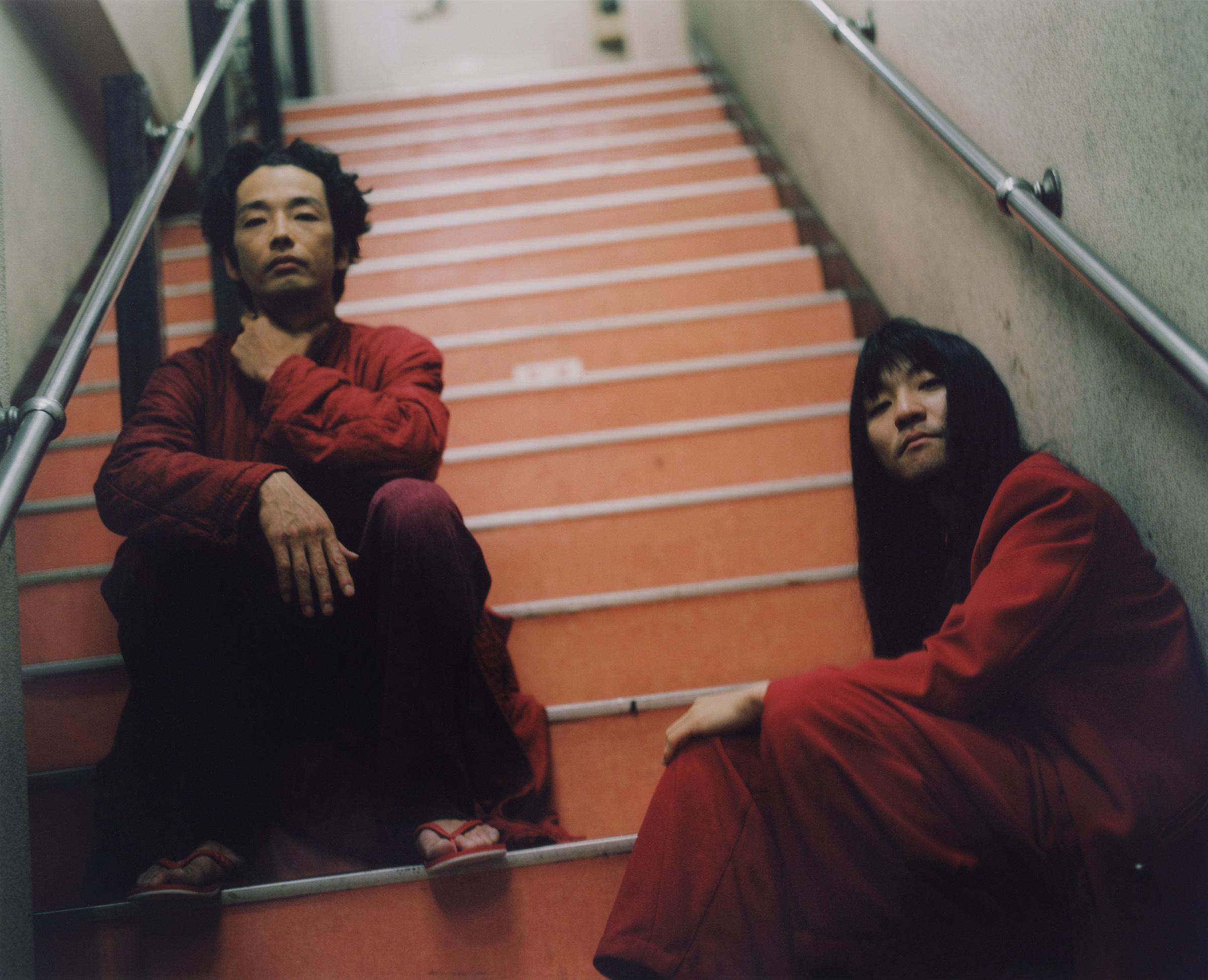 森山未來×マヒトゥ・ザ・ピーポー  (C) 2022「i ai」Film partners / photo by 佐内正史