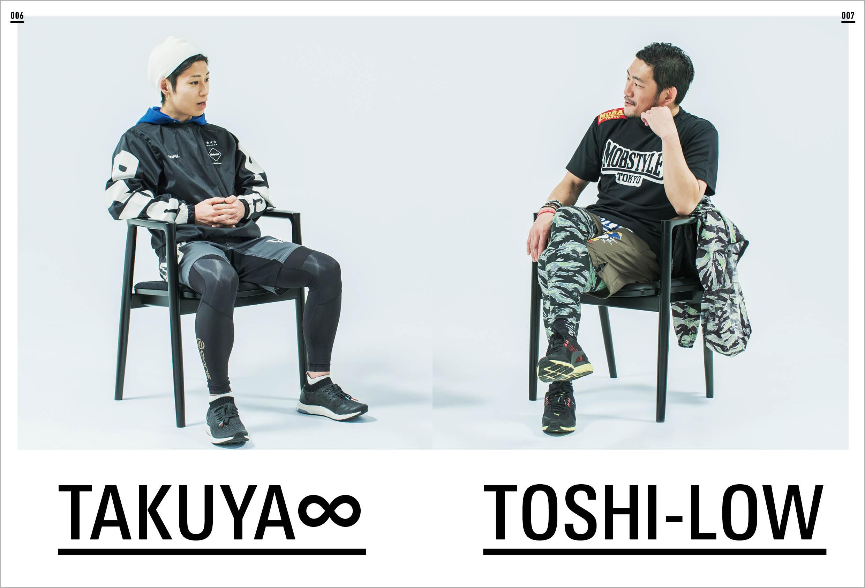 TAKUYA∞(UVERworld)、TOSHI-LOW(BRAHMAN/OAU)