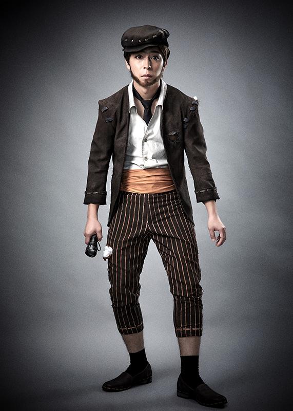 泥棒(クリーチャー・ピアソン):石川竜太郎