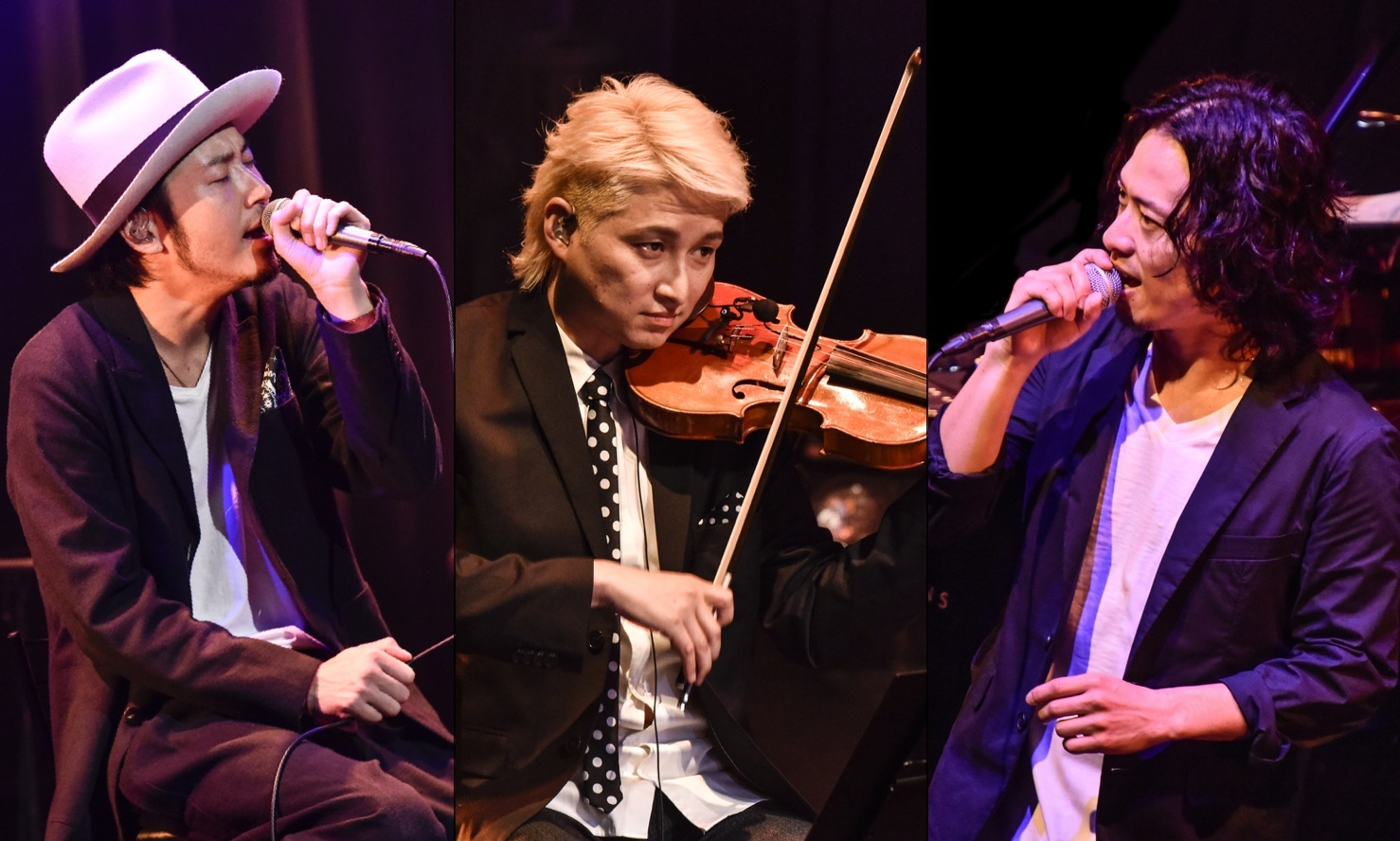 大木伸夫(ACIDMAN)× 山田将司(THE BACK HORN)and NAOTO QUARTET