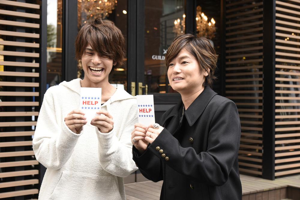 第1弾に登場する八代拓(左)と森久保祥太郎(右) (C)2018声優コレクション製作委員会