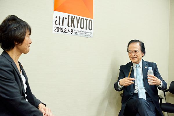 來住尚彦 一般社団法人 アート東京 代表理事と佐々木丞平 京都国立博物館 館長の対談