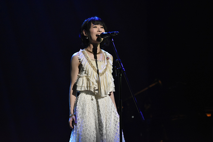 『レ・ミゼラブル』製作発表より 唯月ふうか (撮影:原地達浩)
