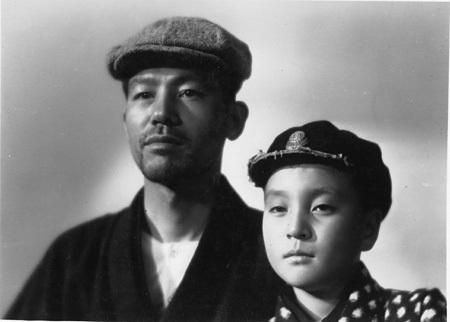 『父ありき』©1942松竹