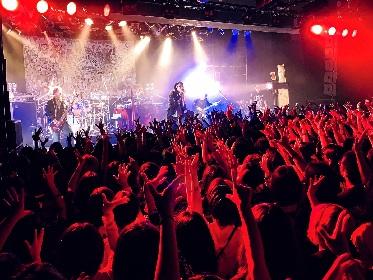 MUCC 全県制覇となったライブツアー『壊れたピアノとリビングデッド収監シリーズ』恵比寿リキッドルームで大団円