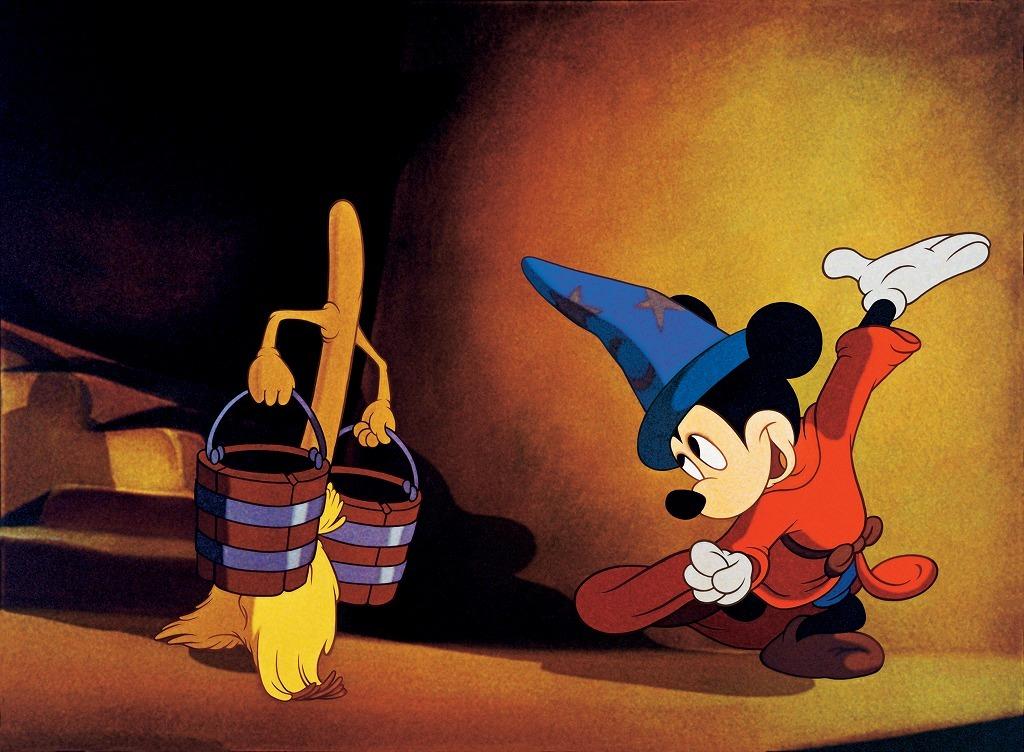 「魔法使いの弟子」 Presentation made under license from Disney Concerts© Disney All rights reserved
