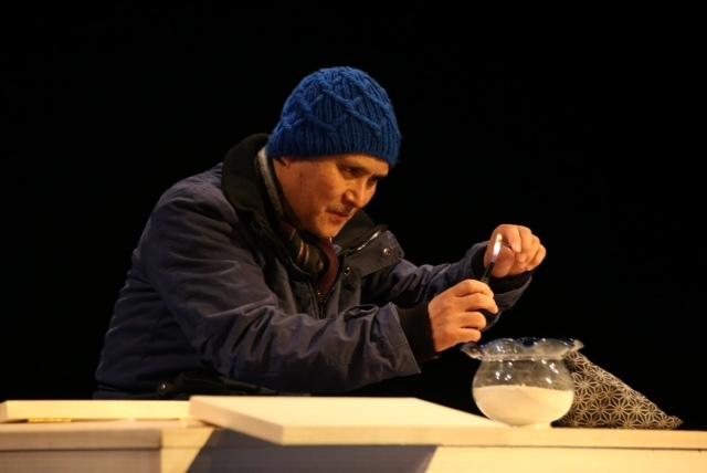 『イーハトーヴの雪』舞台写真