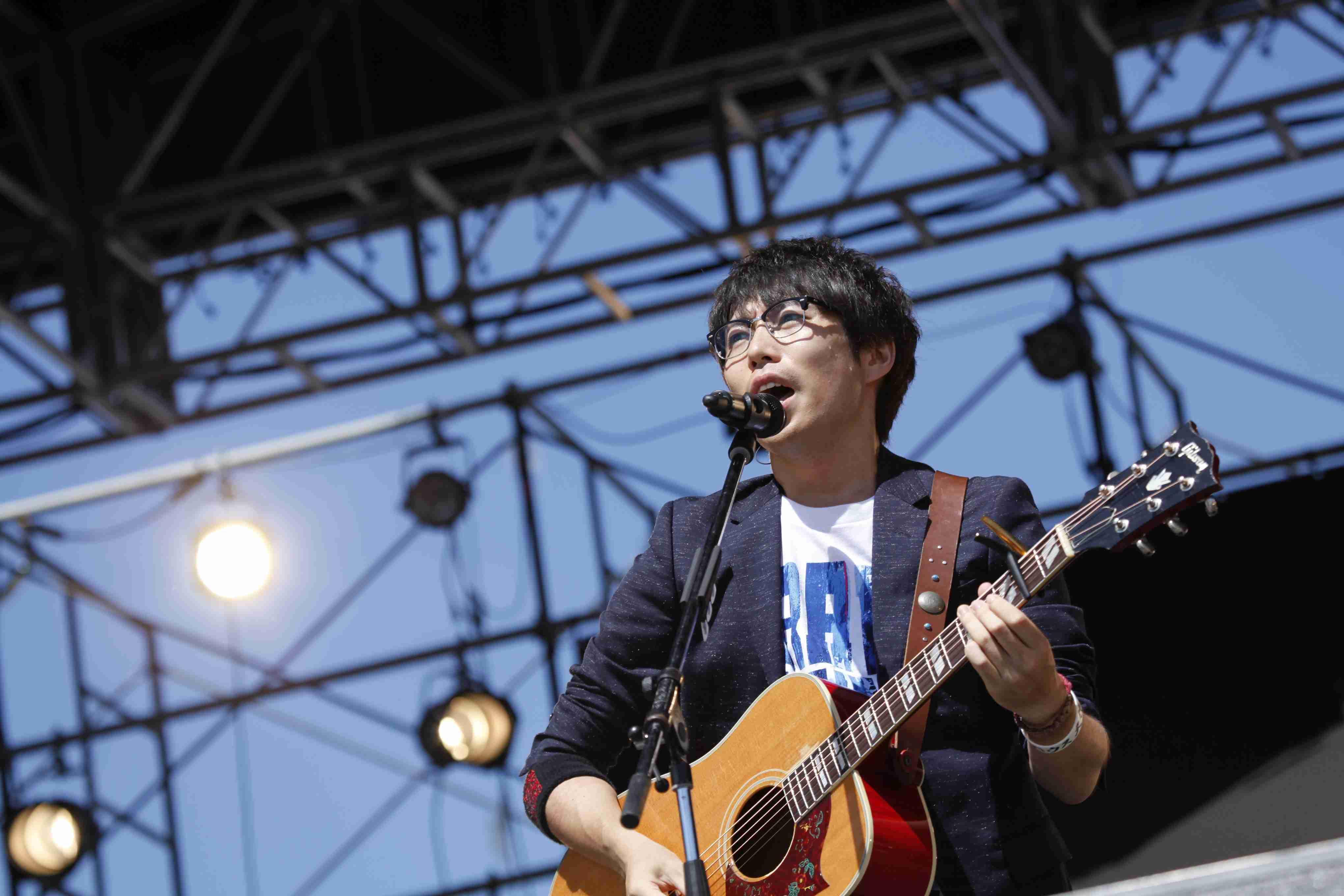 高橋優『秋田CARAVAN MUSIC FES 2016』