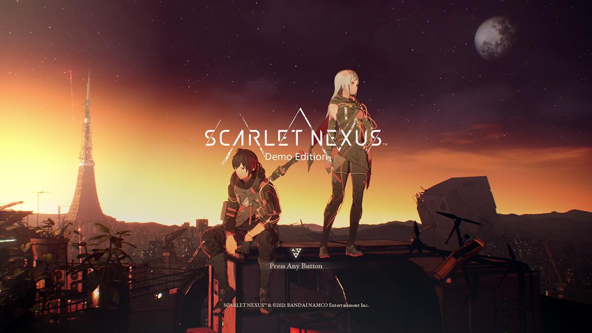 ブレインパンク・アクションRPG『SCARLET NEXUS』 SCARLET NEXUS™ & (c)BANDAI NAMCO Entertainment Inc.